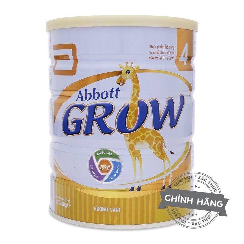 Sữa bột hương vani Abbott Grow số 4