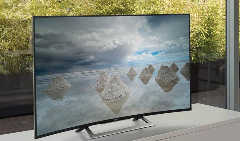 Tivi màn hình cong Sony