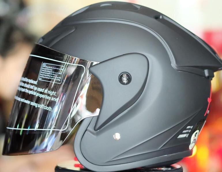 Mũ bảo hiểm ¾ Asia có mũ là sản phẩm được yêu thích của nhiều khách hàng