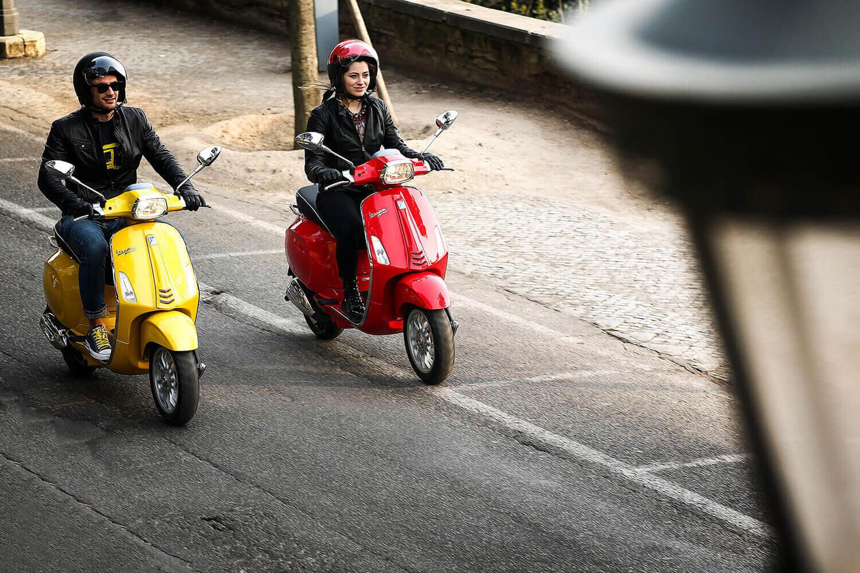Nên chọn màu xe Vespa Sprint phù hợp với mệnh