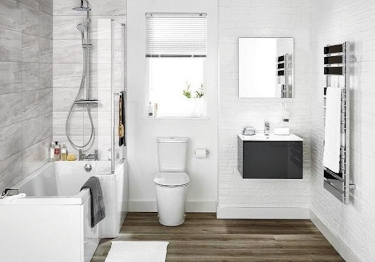 Cách thiết kế nội thất phòng tắm đẹp