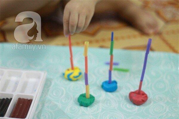 Những trò chơi mà học sáng tạo với ống hút 1