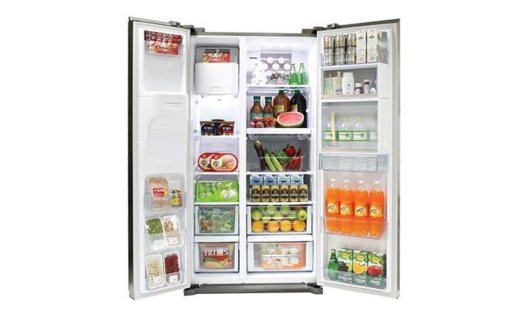 Tủ lạnh side by side Panasonic tích hợp nhiều tính năng hiện đại