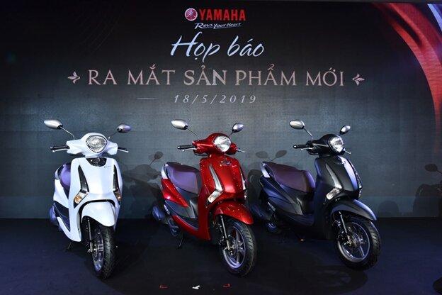 Ba màu sắc nổi bật của Yamaha Latte