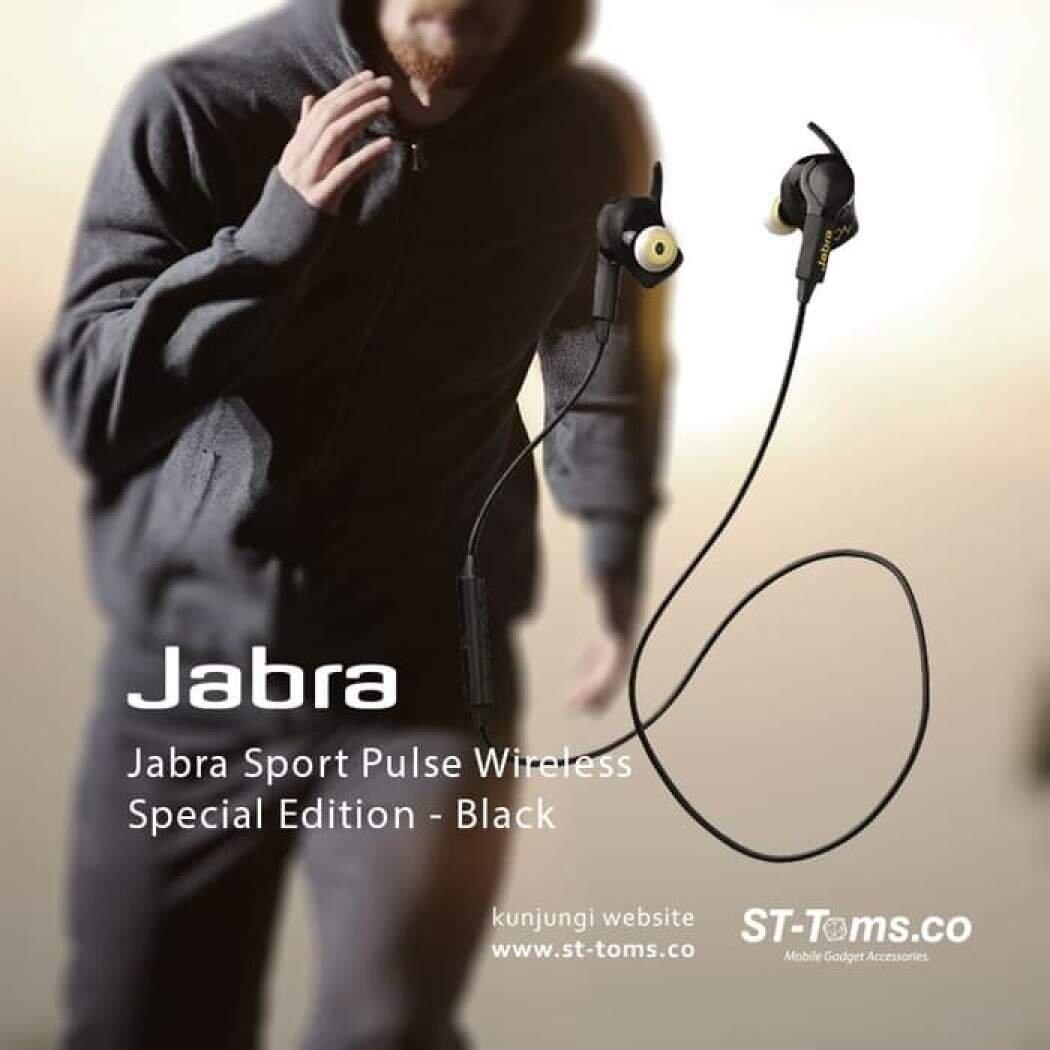 Tai nghe Bluetooth Jabra Sport Pulse Special Edition có khả năng chống nước, chống thấm hiệu quả