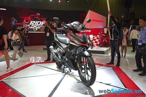 Dòng xe máy tay côn mới của Honda - Honda Winner