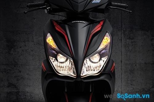 Đèn pha halogen trên xe máy