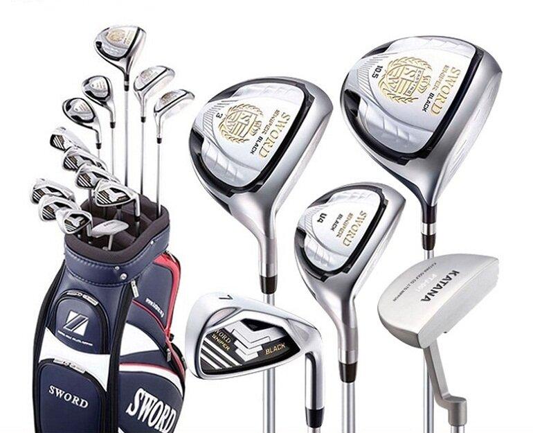 Bộ gậy golf tiêu chuẩn gồm 12 cây gậy