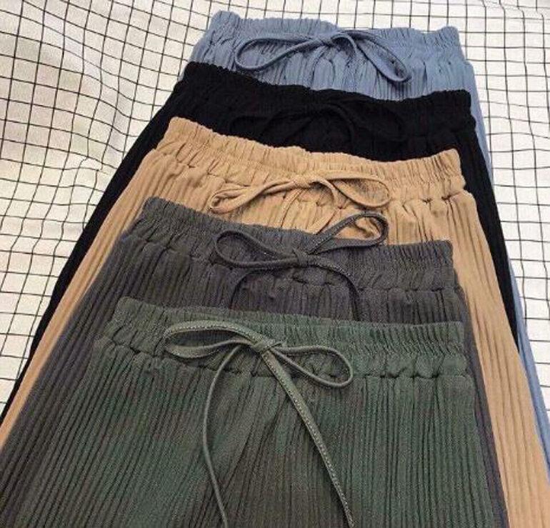 Muốn mặc quần voan dập ly ống rộng ĐẸP - SANG - XỊN - MỊN thì đừng bỏ lỡ cách mix với các item này