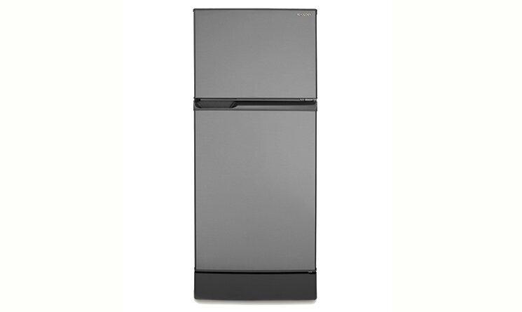 Tủ lạnh Sharp SJ211ESL (SJ-211E-SL) - 196L, 2 cánh, ngăn đá trên