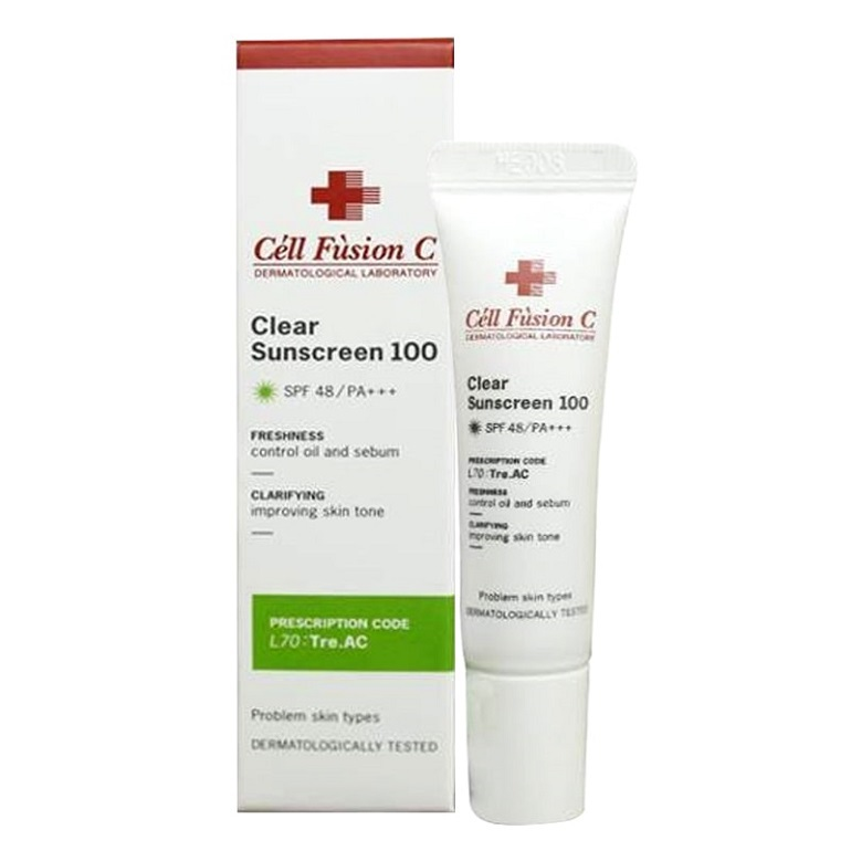 Kem chống nắng Cell Fusion C Clear Sunscreen 100