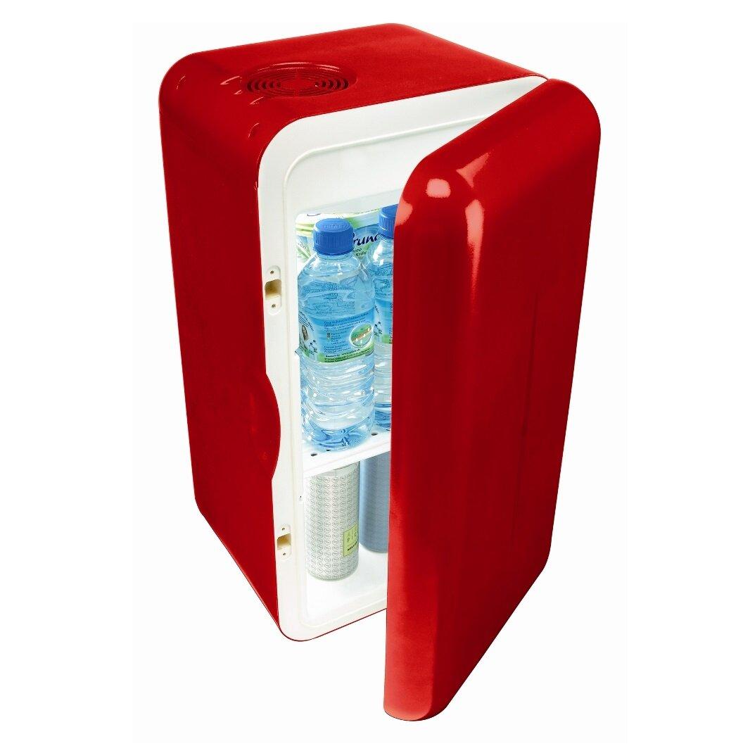 Thiết kế tủ lạnh mini Mobicool khá đẹp và gọn, nhưng không đa năng