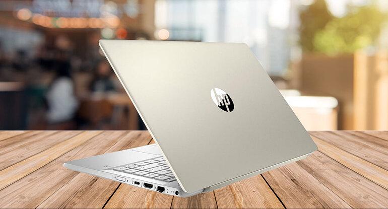 Laptop HP Pavilion 14-ce1008TU 5JN06PA Gold là phiên bản màu rất được yêu thích