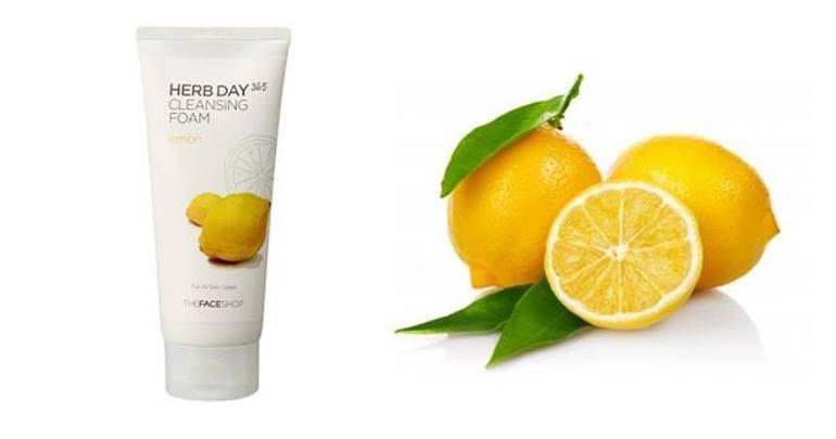 Sữa rửa mặt Herb Day 365 Lemon Cleansing Foam