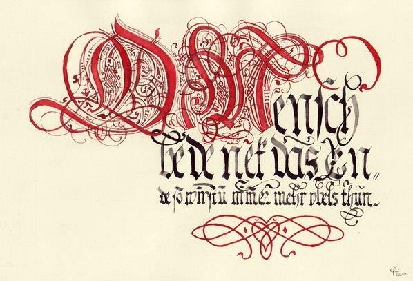 Nghệ thuật Calligraphy với bút artline Stix Brush Marker
