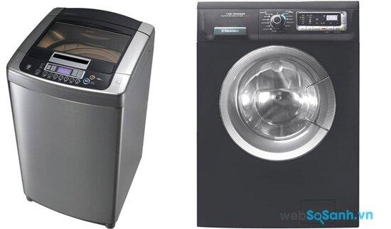 LG WFD1617DD và Electrolux EWF10831G (nguồn: internet)