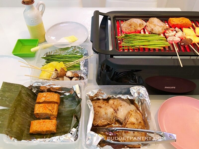 Bữa tiệc nướng đặc sắc thật sự đơn giản hơn nhiều với bếp nướng điện