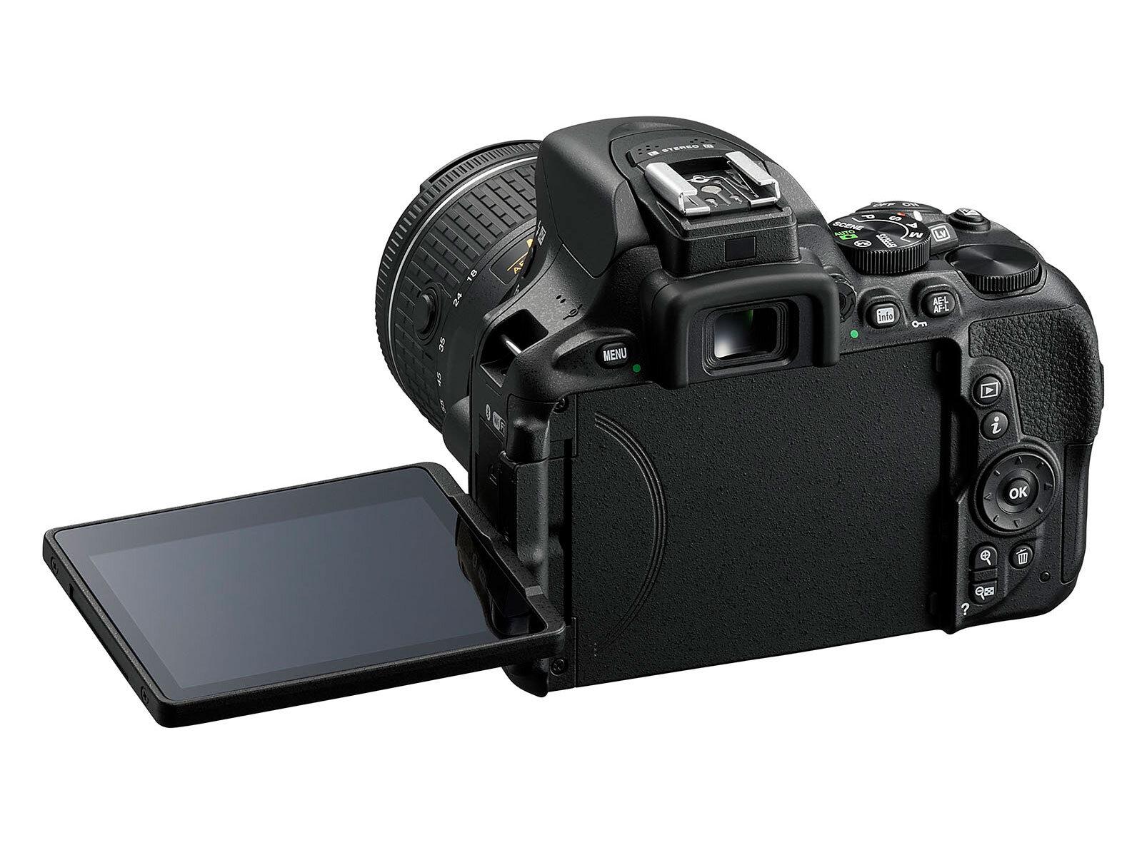 Màn hình linh hoạt của Nikon D5600