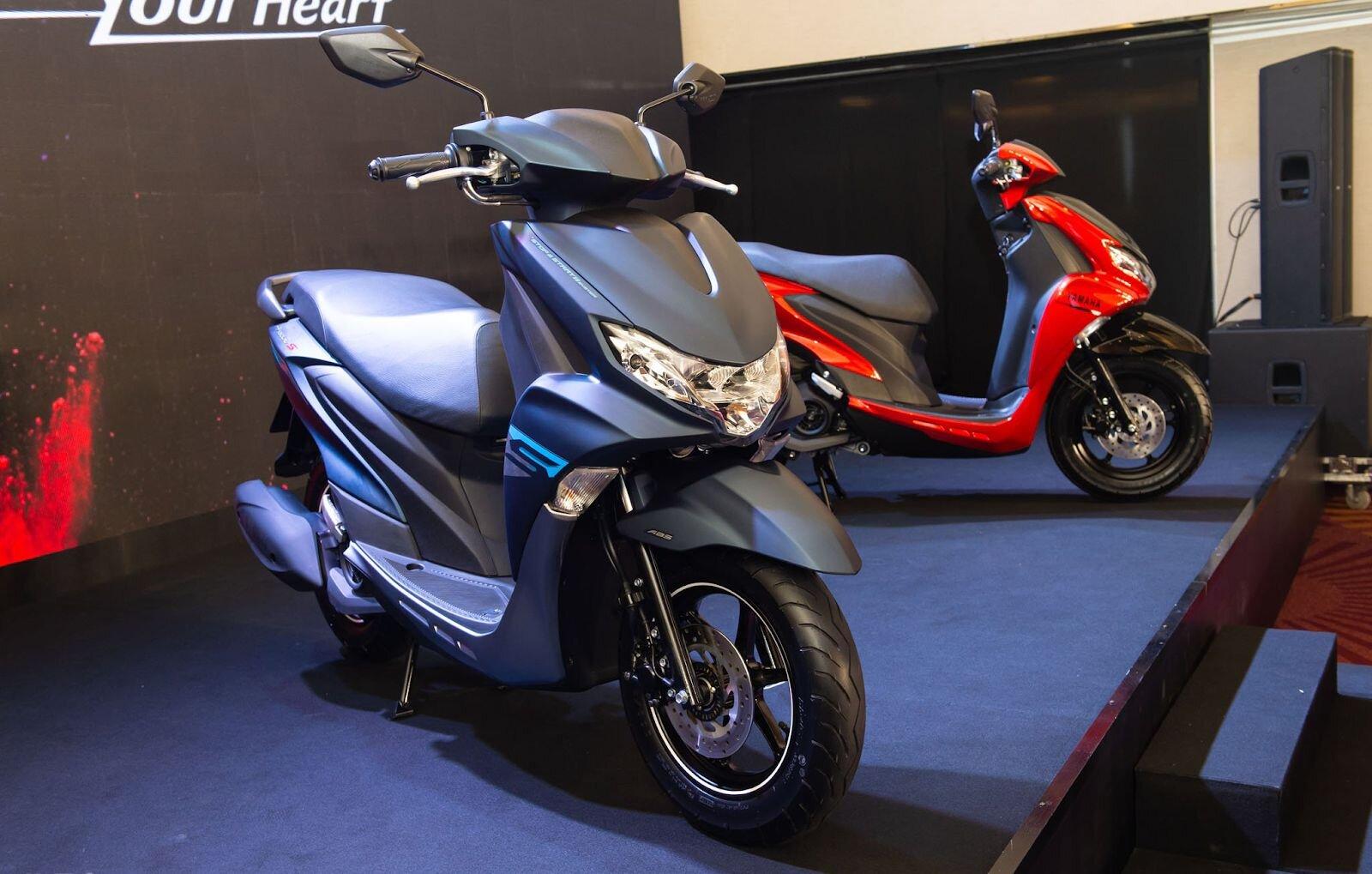 Yamaha FreeGo có kiểu dáng thanh lịch, hiện đại và nhiều ưu điểm về động cơ