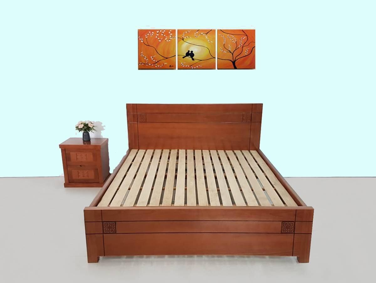 Sản phẩm làm từ 100% gỗ Xoan Đào Lào đảm bảo độ vững chắc và bền đẹp (Nguồn: phucan.com)