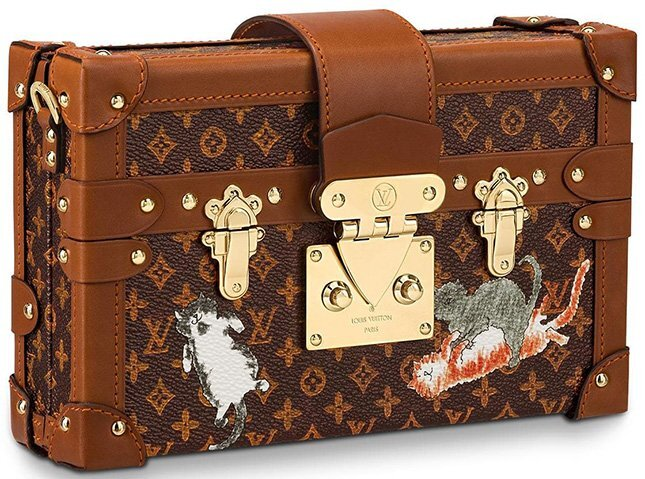 Louis Vuitton x Grace Coddington bags Collection