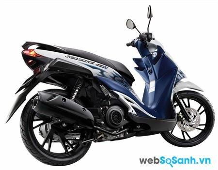 Suzuki Hayate chiếc xe tay ga giá rẻ