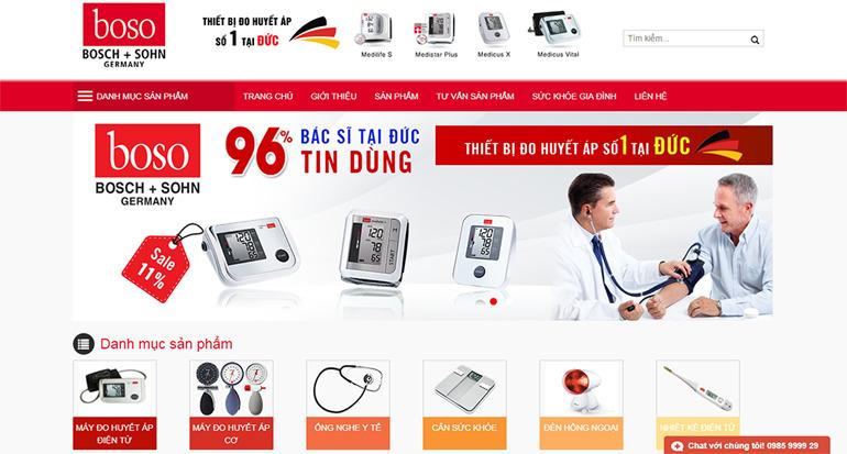 máy đo huyết áp boso