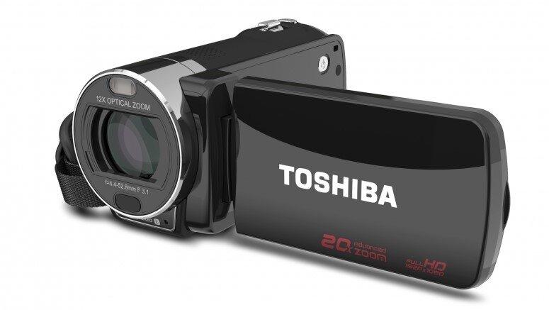 Máy quay Toshiba Camileo X416