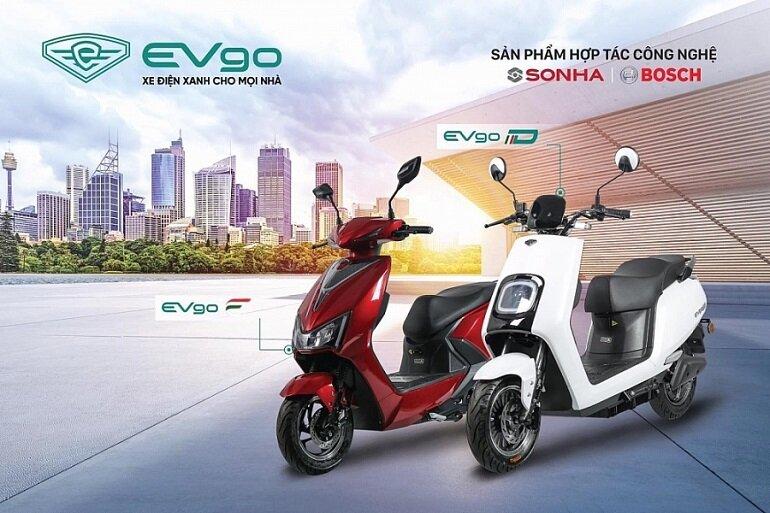 xe máy điện Sơn Hà