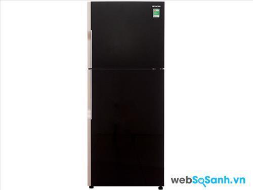Tủ lạnh Hitachi R-VG470PGV3 thiết kế tủ mặt gương sang trọng