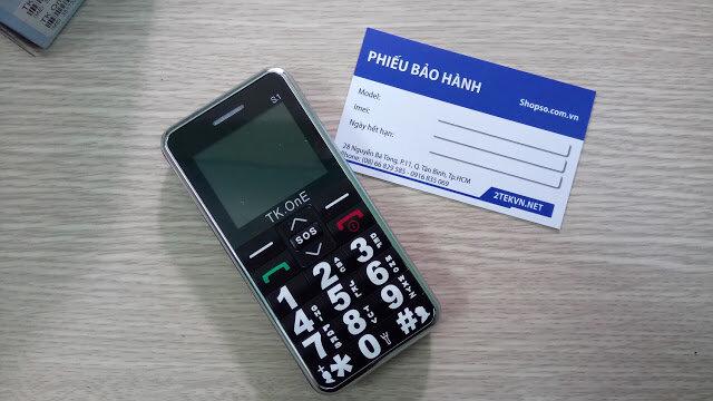 Điện thoại cho người già TK one S1