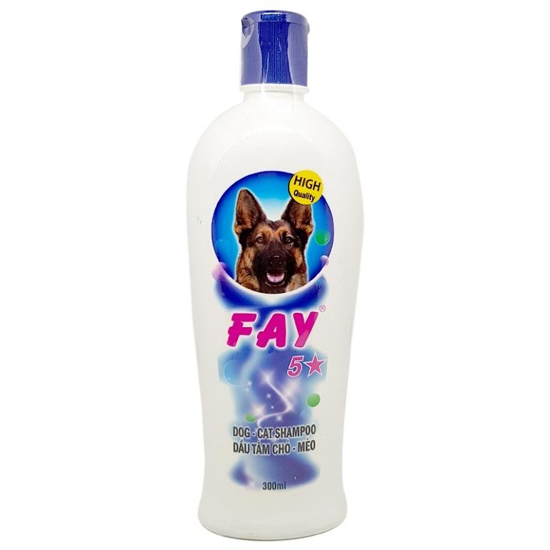 Sữa tắm tiêu diệt ve chó Fay 5 sao