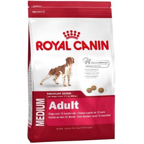 Thức ăn cho chó Royal Canin Medium Adult - 1kg, dành cho chó từ 11-25kg và trên 12 tháng tuổi