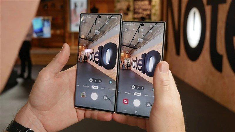 Camera Galaxy Note 10 Plus trang bị tính năng quay Live Focus, video 4K