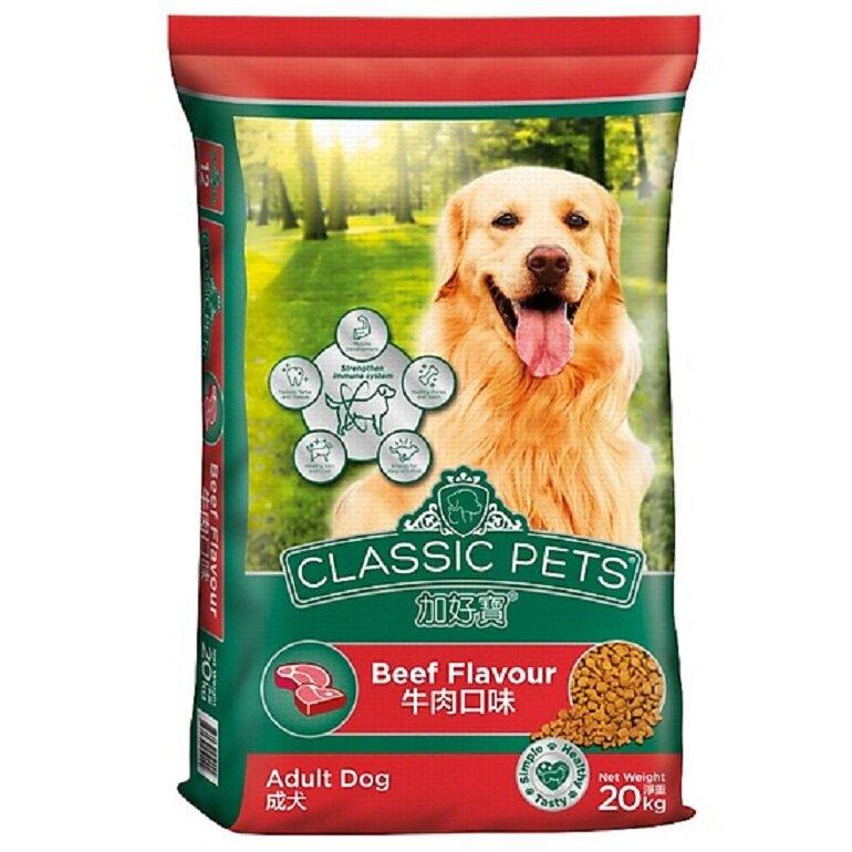 Thức ăn cho chó bao 20kg Classic Pets