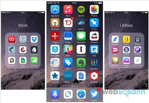 ứng dụng dành cho iphone