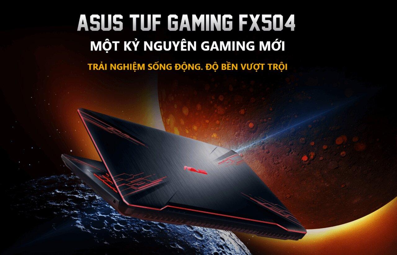 Laptop Asus TUF Gaming FX504GM-EN303T mang đến trải nghiệm sống động