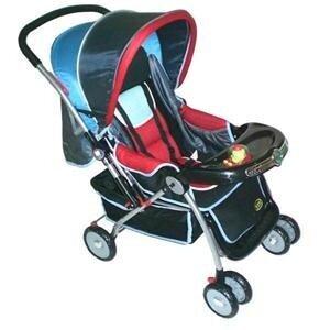 Xe đẩy trẻ em BBH 736 - màu W/ N/ B/ K/ KE/ EK