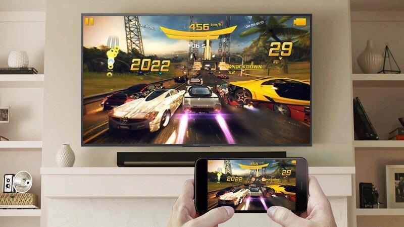 Tivi thông minh của Sony thu hút ngay từ vẻ bề ngoài: kiểu dáng, thiết kế hiện đại, tinh tế