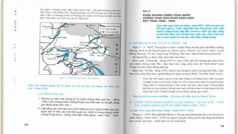 Nội dung của sách lịch sử 9