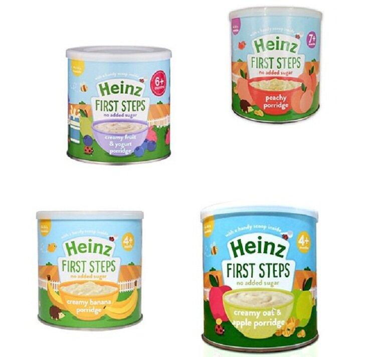 Bột ăn dặm Heinz cung cấp các dưỡng chất cho bé phát triển toàn diện