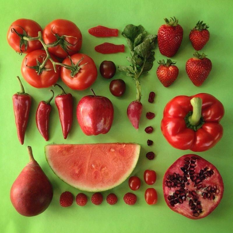 Các loại rau củ màu đỏ giúp tăng cường oxy và bổ sung chất sắt cho trẻ