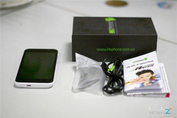 Đánh giá nhanh HKPhone Racer: Điện thoại bình dân giá rẻ-image-1386338402556