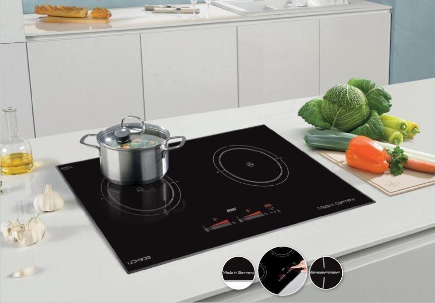 Bếp từ với thiết kế thông minh, gam màu tinh tế tạo tính thẩm mỹ cao cho mọi không gian bếp