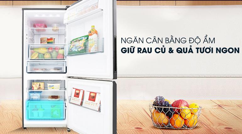 Tủ lạnh Panasonic NR-BV289QKV2 - inverter, 255 lít
