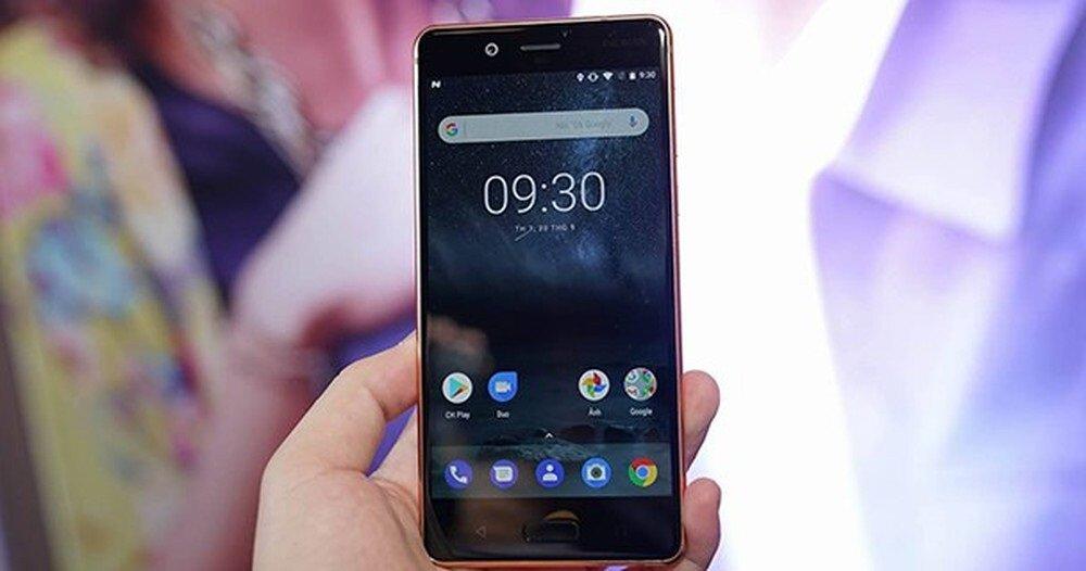 Cận cảnh Nokia 8