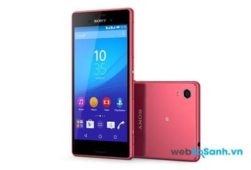 Sự trẻ trung năng động là điều Sony muốn đem đến cho người dùng bởi điện thoại M4 Aqua