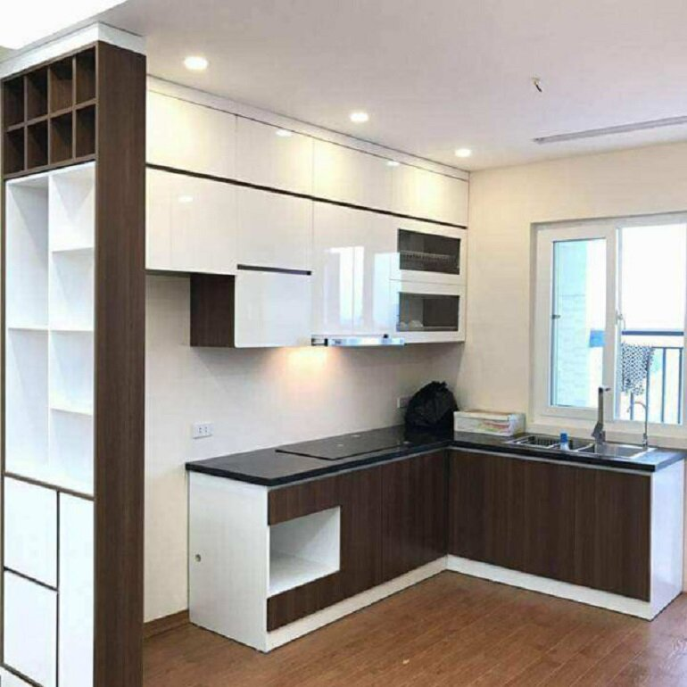 nội thất nhà ống đẹp cho phòng bếp