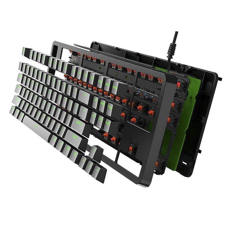 bàn phím cơ giá rẻ fuhlen g87s