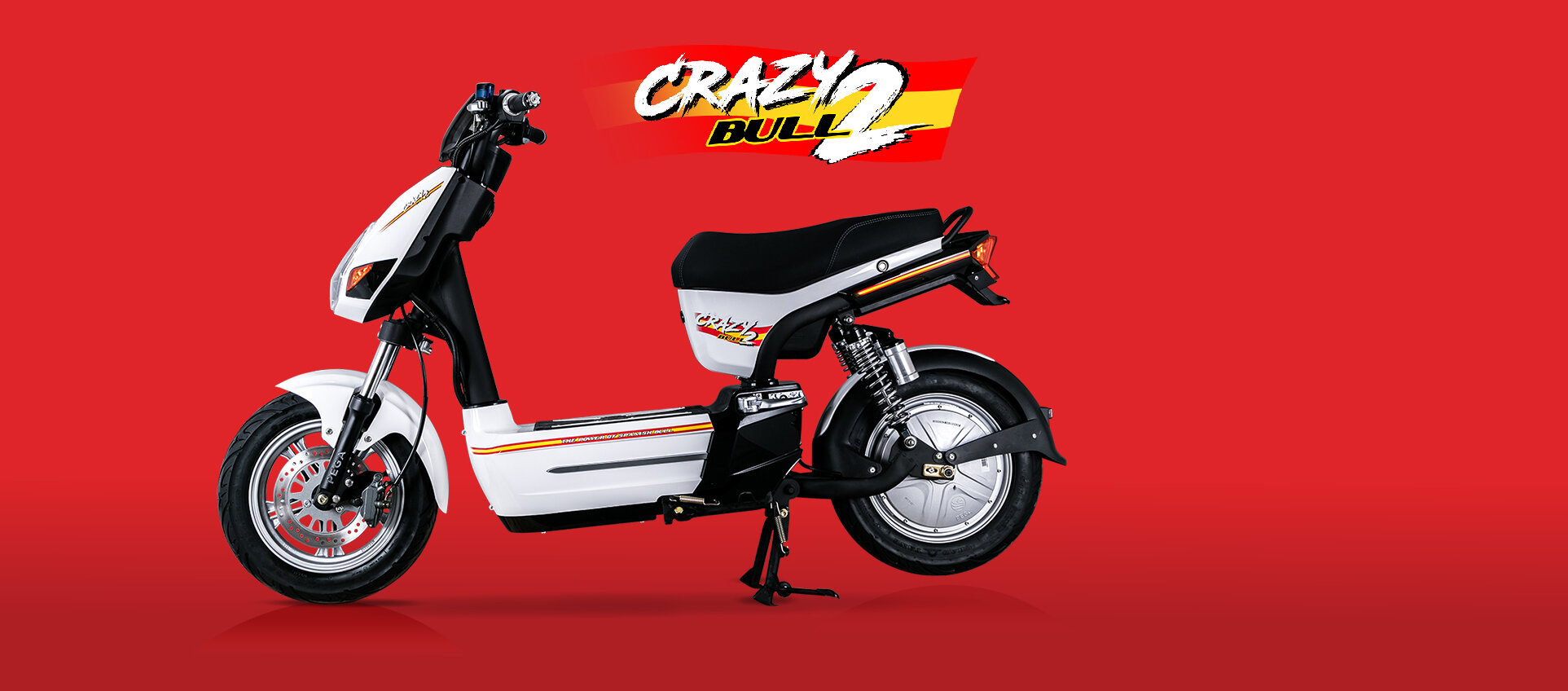 Xe máy điện PEGA Crazy Bull 2